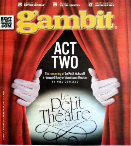 The Gambit July 9th, 2013